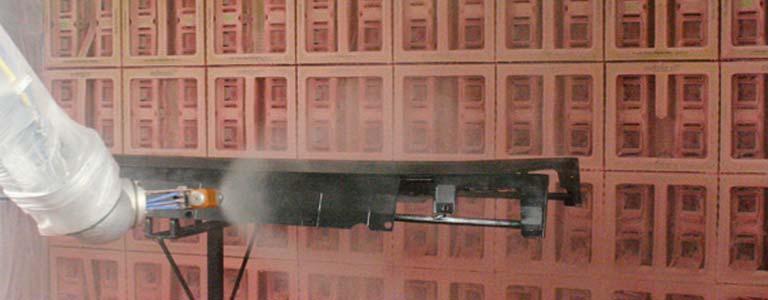 Impianto di verniciatura completamente a secco ad alta for Planimetrie della cabina di log